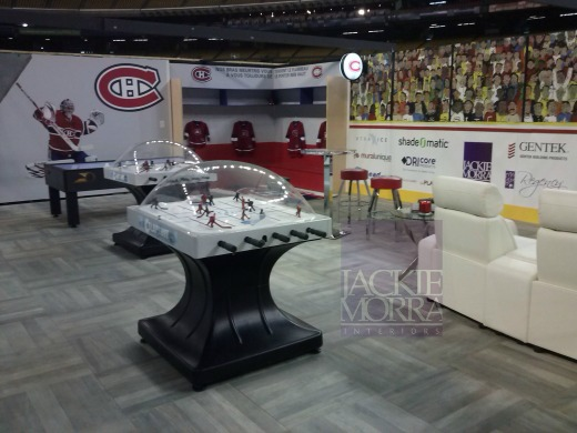 Montreal Hockey Fan Cave by Jackie Morra 3