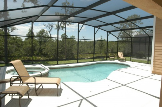 Contempo Vacation Home Pool Area