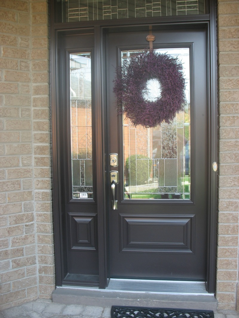 Front Door Finishes ww