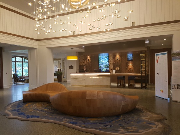 JW Marriott Muskoka Lobby Area