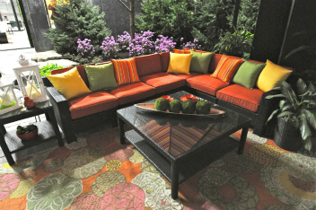 Outdoor Oasis Colourful Patio Furniture