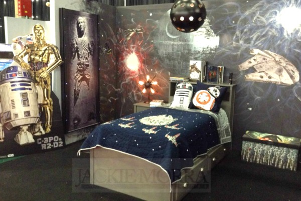 star wars themed kids bedroom